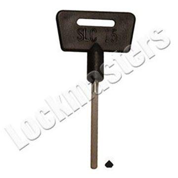 Picture of Diebold 172 & 182 Series Safe Deposit Lock Change Key