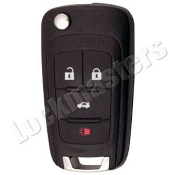 Picture of Chevrolet 4 Button PEPS