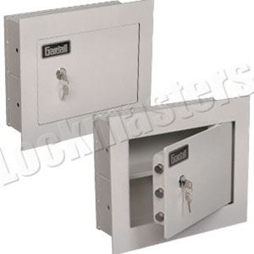 "Picture of Gardall Concealed 4"" Wall Safe Key Operated"