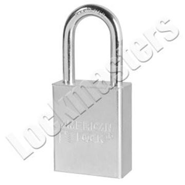 Picture of American Lock A5101 Series Solid Steel Rekeyable Pin Tumbler Padlock - Keyed Alike 63387