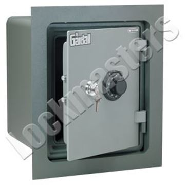 """Picture of Gardall 17-1/4"""" H x 14"""" W x 15-1/4"""" D Wall Safe"""
