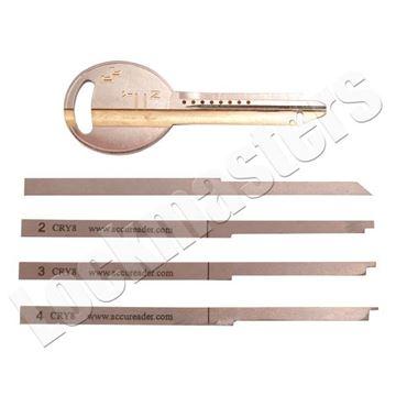 Picture of Chrysler AccuReader 8 Cut Keyway Locks