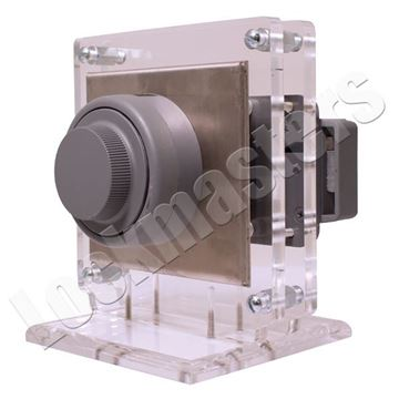 Picture of Acrylic Mount with Adjustable Base for Pedestrian Door Locks