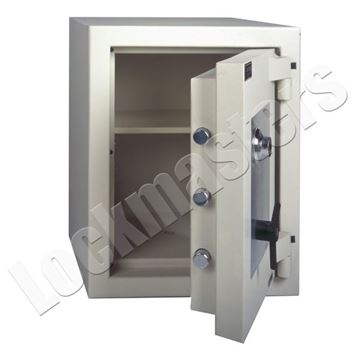 "Picture of AMSEC AMVault TL-15 25"" x 18"" Composite Safe with AMSEC ESL10 Lock"
