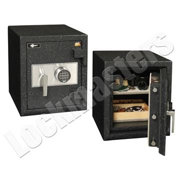 "Picture of AMSEC BF Series 15"" x 12"" UL Listed Fire Rated Burglary Safe with AMSEC ESL10 Lock"