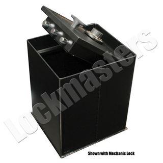 """Picture of AMSEC Brute Series 12-3/4"""" x 14-1/8"""" Floor Safe with AMSEC ESL5 Lock"""