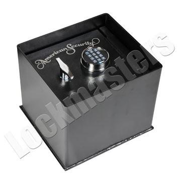 """Picture of AMSEC Brute Series 12-1/4"""" x 13-1/4"""" Floor Safe with AMSEC ESL5 Lock"""