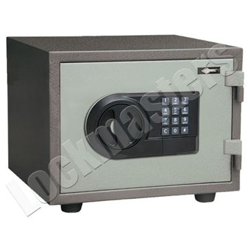 "Picture of AMSEC 7"" x 11-1/4"" Imported Fire Safe with AMSEC ESL5 Lock"