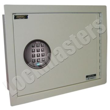 "Picture of Amsec Wall Safe 10""H x 13-3/4"" W x 3-1/2"" D Steel Body"