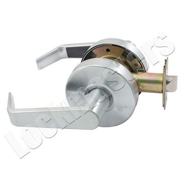 Picture of Arrow Grade 2 Cylindrical Lockset; Sierra Lever Design