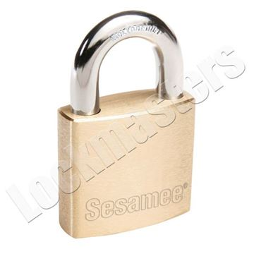 Picture of CCL Brass Rekeyable SC1 Keyway Padlock