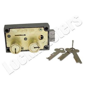Picture of Bullseye 175-06 Safe Deposit Lock - Left Hand