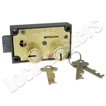 Picture of Bullseye 175-06 Safe Deposit Lock