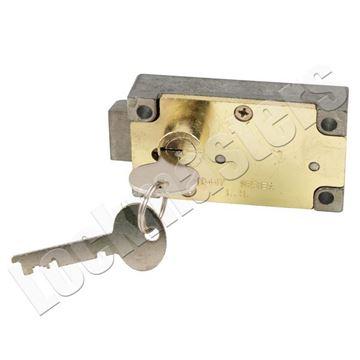 Picture of Bullseye 447 Single Nose Left Hand Safe Deposit Lock