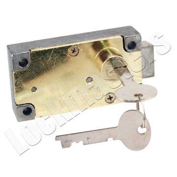 Picture of Bullseye 447 Single Nose Right Hand Safe Deposit Lock