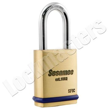 "Picture of CCL 760 Series SFIC 1-3/4"" Padlock with 1-1/2"" Shackle"