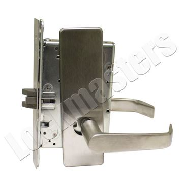Picture of Corbin Mortise Passage Lever Lock-Satin Chrome Finish