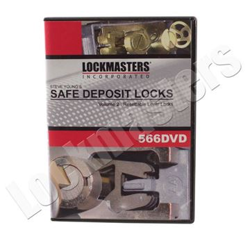 Picture of Steve Young's Resettable Lever Safe Deposit Box Lock Instructional DVD Volume 2