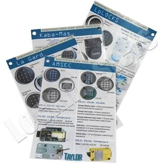Picture of Electronic Safe Lock Quick Reference