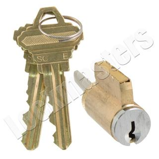 Lockmasters Gms Knob Lever Cylinder 5 Pin Schlage E