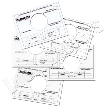 Picture of GSA Magnetic Template Set