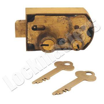 Picture of Herring Hall Marvin HHM 12/14 Model #12 Safe Deposit Lock