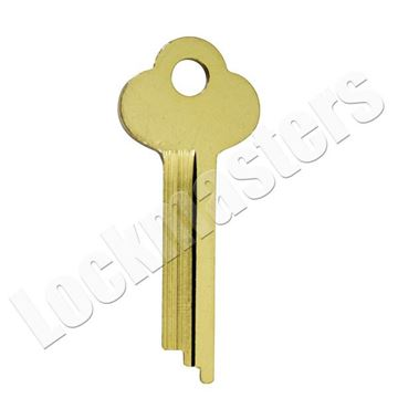 Picture of 1133A HHM/York Safe Deposit Key Blank