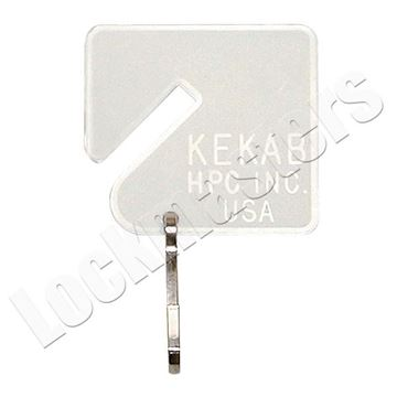 Picture of HPC Key Storage - Plain Key Tags 100 Pack