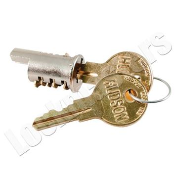 Picture of Hudson Cylinder with 2 keys - Key Code 020