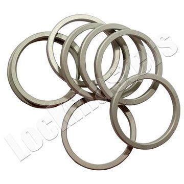 "Picture of Ilco Cylinder Solid Collar 1/4"" Aluminum"