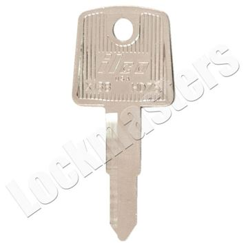Picture of Honda X138 Motorcycle Key Blank