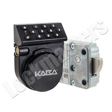 Picture of Kaba Mas Auditcon Model 252 Swing Bolt Lock with Vertical Keypad