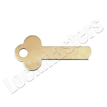 Picture of Mosler Safe Deposit Box 1323 Renter Key Blank - (Priced per blank)