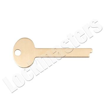 Picture of S&G 4440 Series Safe Deposit Box Flat Guard Key - Price per Blank
