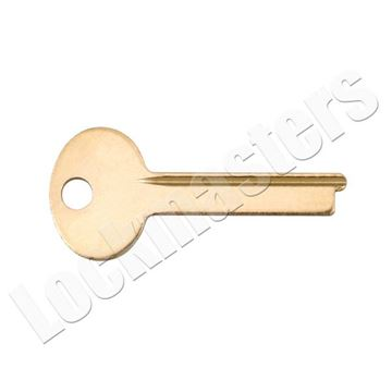 Picture of S&G 4440 Series Safe Deposit Box 1068E Grooved Renter Key Blank -  (Priced per blank)