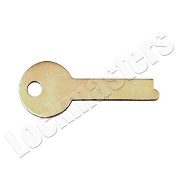 Picture of Yale 200/300 Series Safe Deposit Box 885BL  Flat Renter Key Blank