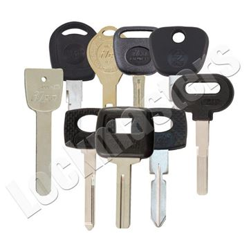 Picture of High Security Automotive Key Blank Assortment