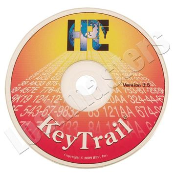 Picture of Key Trail Software on CD