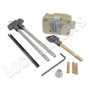 "Picture of LaGard 2200 Key Operated Lock with a Pair of 6"" Keys"