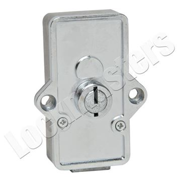 Picture of Bullseye/LeFebure Cabinet Lock with Holes
