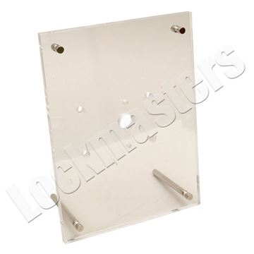 Picture of Clear Plexiglass Safe Lock Mount