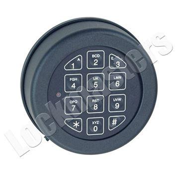 Picture of Lp Locks Base Line Keypad Only - Black Finish