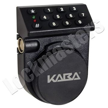 Picture of Kaba Mas Auditcon Model 252 Standard Bolt Lock with Vertical Keypad