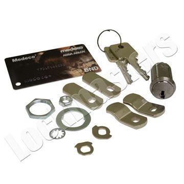 Picture of Medeco 118 cam lock w/2 keys