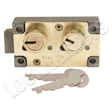 Picture of Bullseye S&G 4443 Replacement Left Hand Safe Deposit Lock