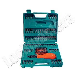 Picture of 105 Piece Screwdriver Ratchet Set with Security Bits
