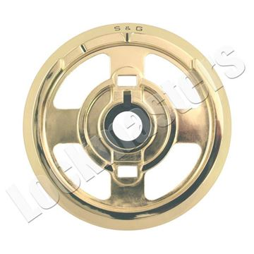 Picture of S&G Mechanical Safe Lock Part - Convertible Key Locking, Spy Proof, Gold Dial Ring