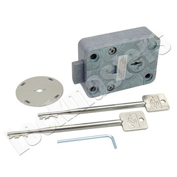 Picture of S&G 6805 Key Operated Safe Lock with Escutcheon Non-Key Retaining