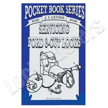 Picture of Ford 8 Cut Locks Service Book by Jerry Levine