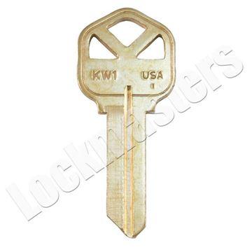 Picture of Kwikset KW1BR Key Blank - 250 Bulk Pack